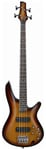 Ibanez SR370 Electric Bass Guitar Brown Burst