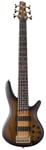 Ibanez SR756 6 Str Elec Bass Gtr Natural Flat