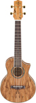 Ibanez UEW20SM Spalted Maple Acoustic Ukulele with Gig Bag
