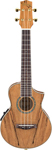 Ibanez UEW20 Spalted Maple Acoustic Electric Ukulele with Bag