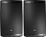 JBL Eon612 12 Inch 1000 Watt Powered PA Loudspeakers Pair