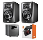 "JBL LSR305 5"" 2-Way Studio Monitor And LSR310S 10"" Studio Sub Bundle"