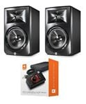 JBL LSR308 3 Series 8 Inch 2 Way Full Range Powered Studio Monitors Pair