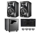 "JBL LSR308 8"" 2-Way Studio Monitor And LSR310S 10"" Studio Sub Bundle"