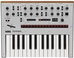 Korg Monologue Analog Synthesizer in Silver