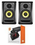 "KRK RP4G3 Rokit G3 4"" Powered Studio Monitor Package Black"