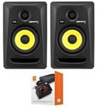 "KRK RP5G3NA Rokit G3 5"" Powered Studio Monitor Package Black"