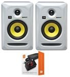 "KRK RP5G3WNA Rokit G3 5"" Powered Studio Monitor Package White"