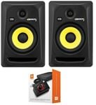 "KRK RP6G3NA Rokit G3 6"" Powered Studio Monitor Package Black"