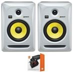 "KRK RP6G3WNA Rokit G3 6"" Powered Studio Monitor Package White"