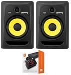 "KRK RP8G3NA Rokit G3 8"" Powered Studio Monitor Package Black"