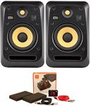 "KRK V6S4 V Series 4 6"" 2-Way Powered Studio Monitors Pair"