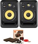 "KRK V8S4 V Series 4 8"" 2-Way Powered Studio Monitors Pair"