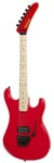 Kramer 84 Baretta Electric Guitar with Floyd Rose Red Bullseye