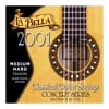La Bella 2001 Series Classical Guitar Strings Medium Hard Tension