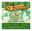 La Bella 427 Elite Clear Nylon Silver Plated Classical Guitar Strings