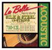 La Bella Silk and Steel 12 String Acoustic Guitar Strings
