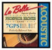 La Bella 7GPS Phosphor Bronze Acoustic Guitar Strings Light 1252