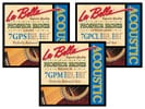 La Bella Phosphor Bronze Wound Acoustic Guitar Strings