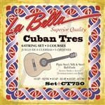 La Bella Cuban Tres Strings