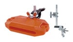 Latin Percussion LP 1204 Piccolo Jam Block Orange With Mount