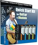 Lee Oskar 1910QSGUU Quick Start Kit for Guitar and Ukulele