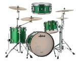 Ludwig Classic Maple 4Pc Green Sparkle 54 Free Snare Drum