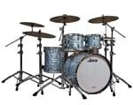 Ludwig Classic Maple 4 Piece Shell Kit Drum Set Sky Blue Pearl