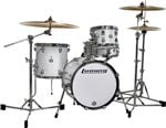 Ludwig Breakbeats Questlove 4 Piece Shell Kit Drum Set White Sparkle