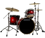 Ludwig Element Icon Birch 4-Piece Drum Set with 400 Series Hardware