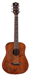 Luna Safari Tattoo Travel Acoustic Guitar with Gigbag