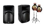 Mackie SRM450 V2 Original Black Powered PA Speakers
