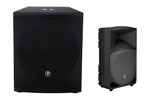 Mackie Thump TH12A and SRM1801 Combo PA Speaker Package
