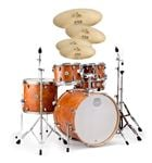 Mapex Storm Rock 5 Pc Drum Set With Hardware Wuhan WU457 Camphor Wood
