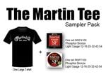 Martin Tee Sampler Pack - SP4100/SP7100/T-Shirt