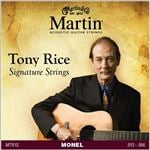 Martin Tony Rice Signature Monel Acoustic Guitar Strings