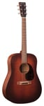 Martin D17M Dreadnought Acoustic Guitar Natural with Case