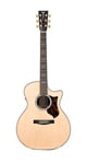 Martin GPCPA1 Plus Acoustic Electric Guitar Natural with Case