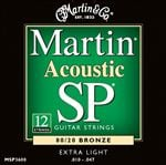 Martin MSP3600 12 String 80/20 Bronze Acoustic Strings