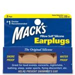 Macks Pillow Soft Silicone Ear Plugs