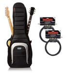 Mono M80 Dual Electric Guitar Case Accessory Package