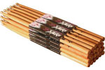 On Stage American Hickory 2B Wood Drum Sticks