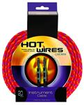 Hot Wires Guitar Instrument Braided Cables
