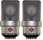 Neumann TLM103 Large Diaphragm Condensor Studio Mic Stereo Pair Nickel
