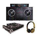 Numark NS7MKIII with Case and Beats Gold Mixr Headphones