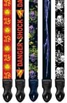 Onori Printed Dacron KC Artist Collection 3 Guitar Strap