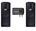 Peavey XR8300 and Dual PV215 PA System