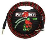 Pig Hog 10Ft Tartan Plaid Instrument Cables with Angled Ends