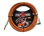 Pig Hog 20Ft Orange Creme Instrument Cable with Angled Ends