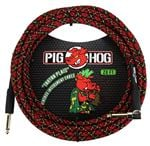 Pig Hog 20Ft Tartan Plaid Instrument Cable with Angled Ends